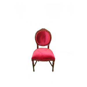 Oval French Side Chair