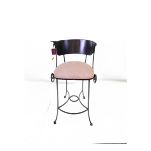 "Wroght Iron Stool - Marianna Barstool 30"" High - Custom"