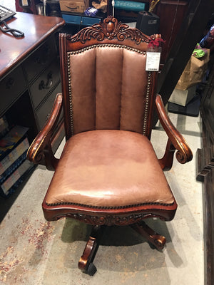 Jane Leather Office Chair