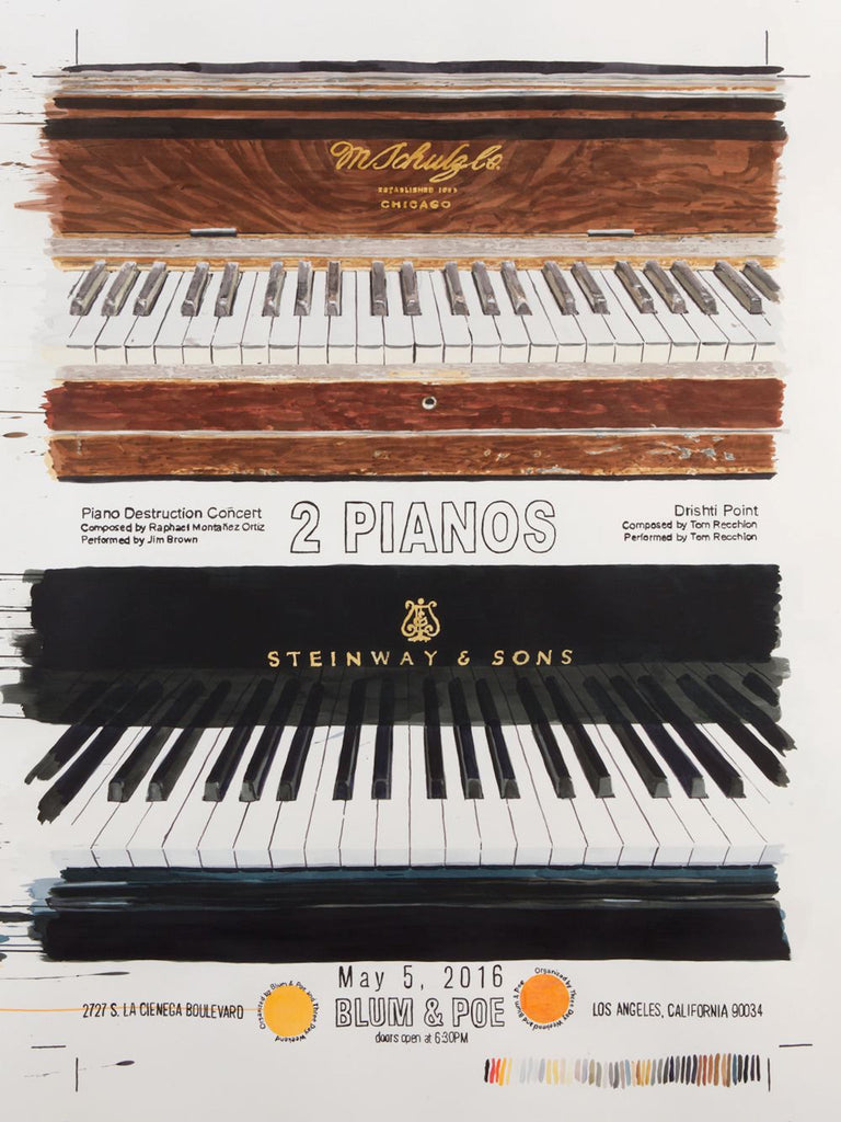 A TALE OF TWO PIANOS - Blum & Poe
