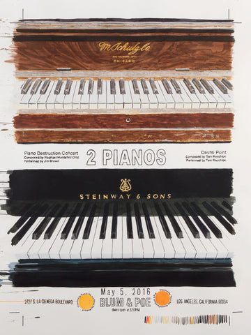 A TALE OF TWO PIANOS