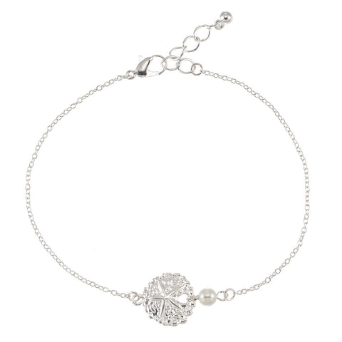 Sand Dollar Anklet - Free As A Bird Jewelry
