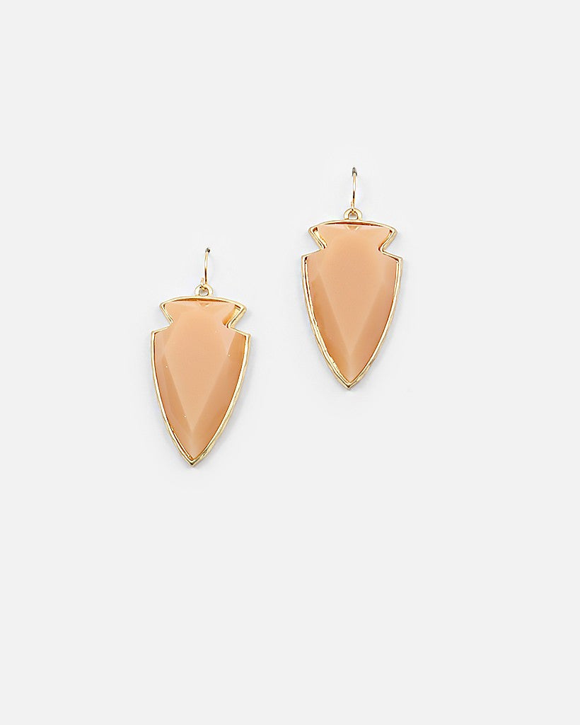 Arrowhead Earrings - Free As A Bird Jewelry