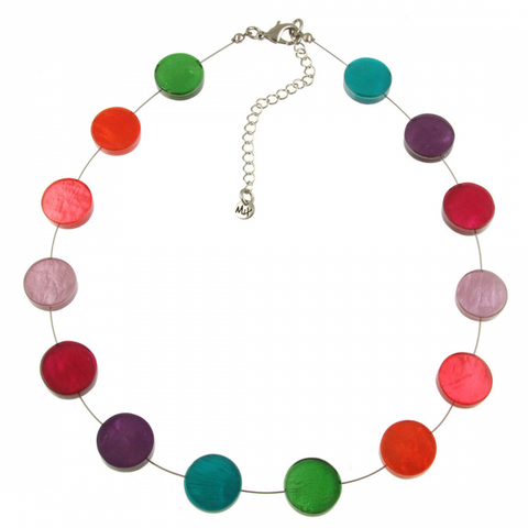 Color Wheel Necklace - Free As A Bird Jewelry