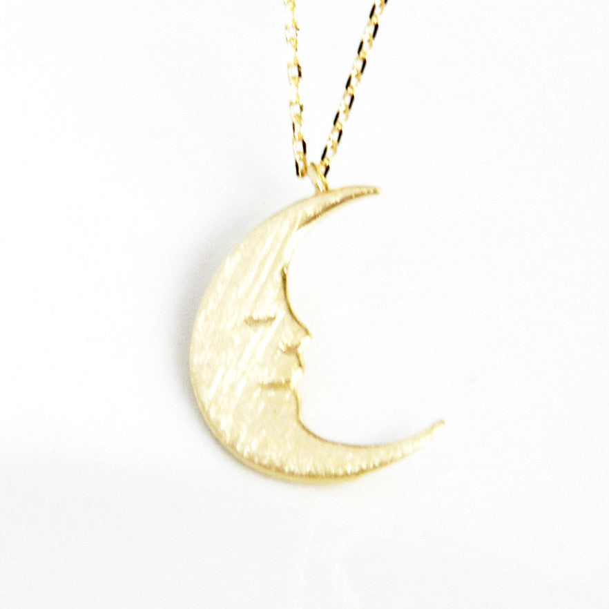 Moon Necklace - Free As A Bird Jewelry