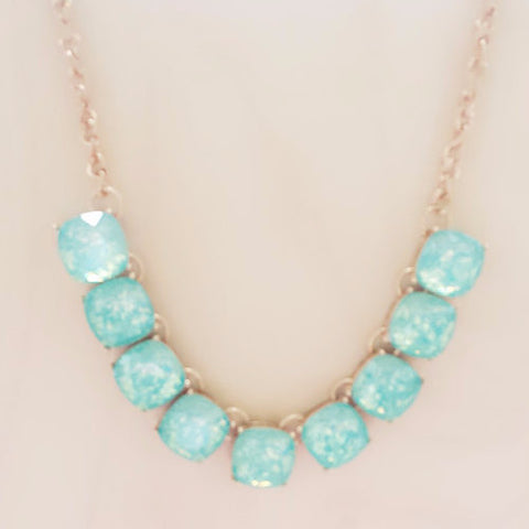 Blue Statement Necklace - Free As A Bird Jewelry