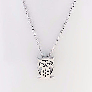 Owl Necklace - Free As A Bird Jewelry