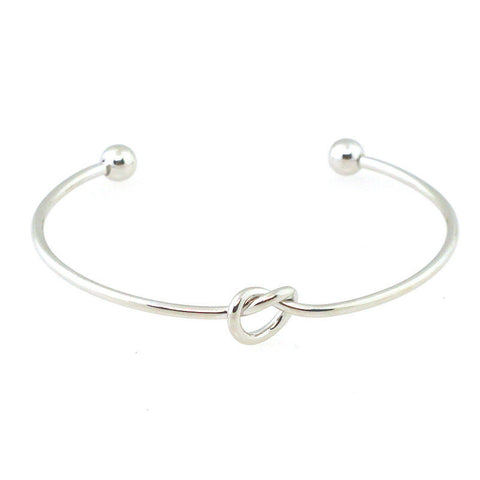 Knot Cuff Bracelet - Free As A Bird Jewelry