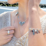 Nautical Charms Bangle - Free As A Bird Jewelry