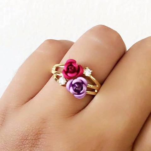 Ring Of Roses - Free As A Bird Jewelry