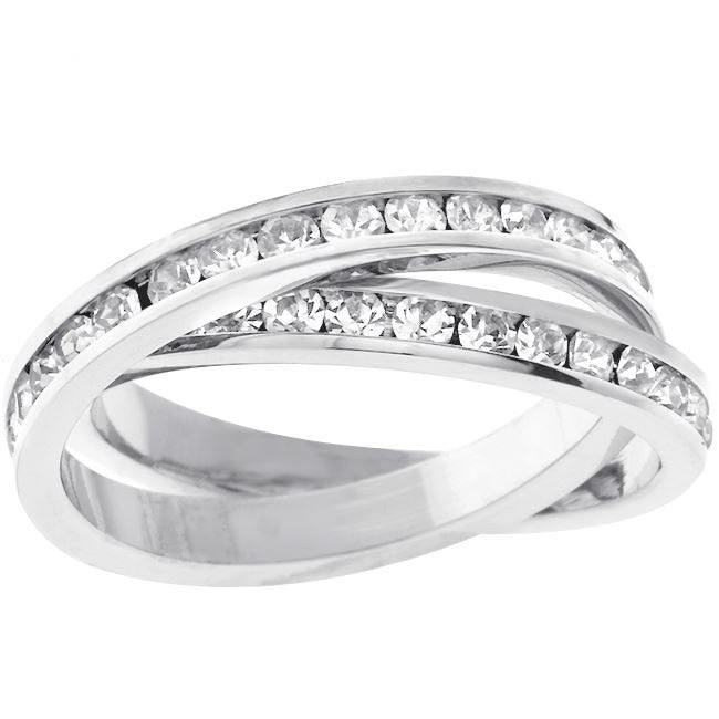 Double Banded Eternity Ring - Free As A Bird Jewelry