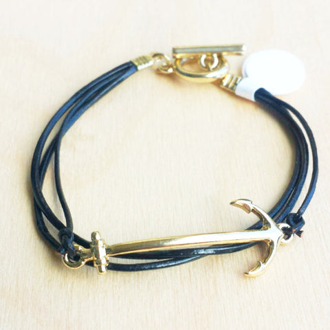 Anchor Bracelet - Free As A Bird Jewelry