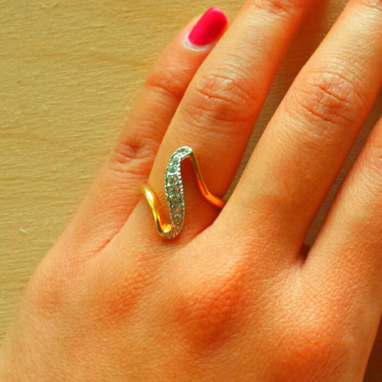 Cubic Zirconia Ring - Free As A Bird Jewelry