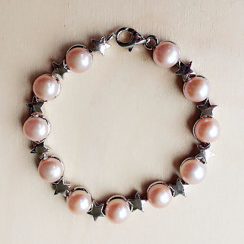Freshwater Pearl Bracelet - Free As A Bird Jewelry