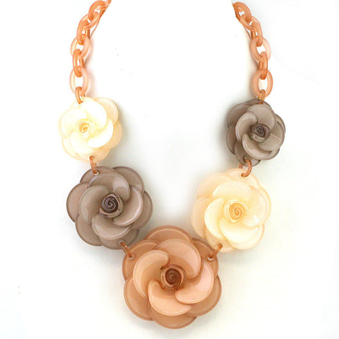 Rose Collar Necklace