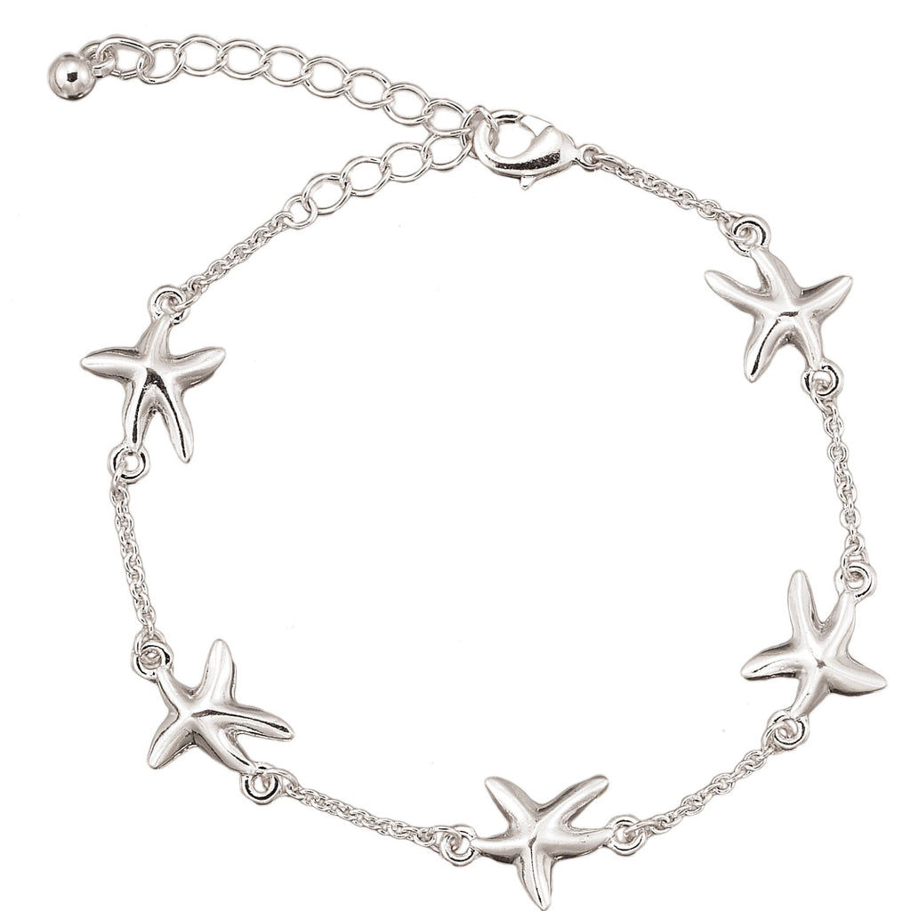 Starfish Chain Anklet - Free As A Bird Jewelry