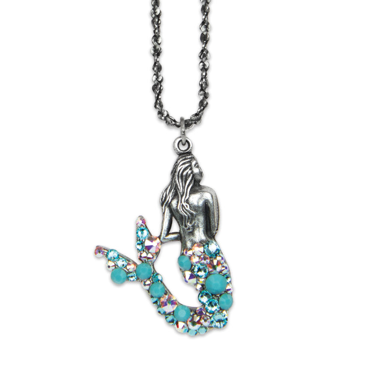 Koa Mermaid Necklace