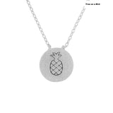 Pineapple Necklace - Free As A Bird Jewelry