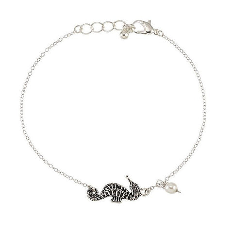 Sea Horse Anklet - Free As A Bird Jewelry