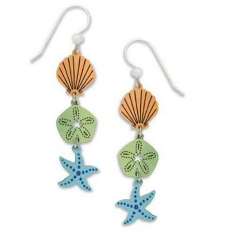 Beach Earrings - Free As A Bird Jewelry
