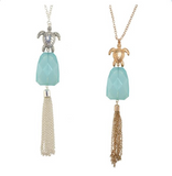 Tassel Royale Necklace