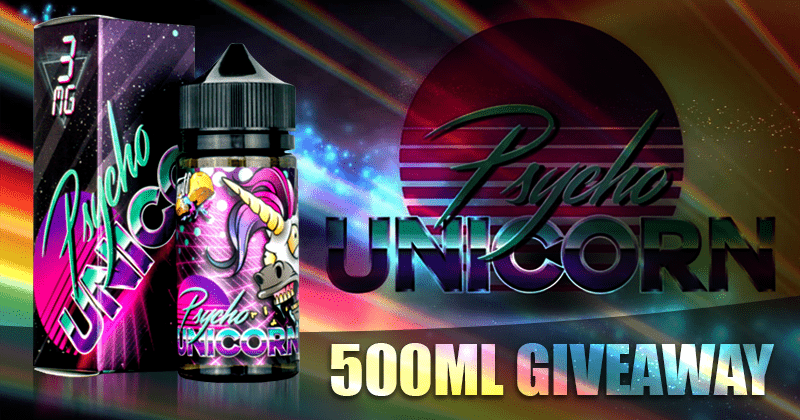 GIVEAWAY: 500MLS PSYCHO UNICORN