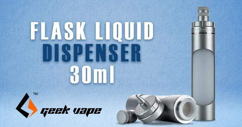 VIDEO: How to Use the Flask Liquid Dispenser by GEEKVAPE