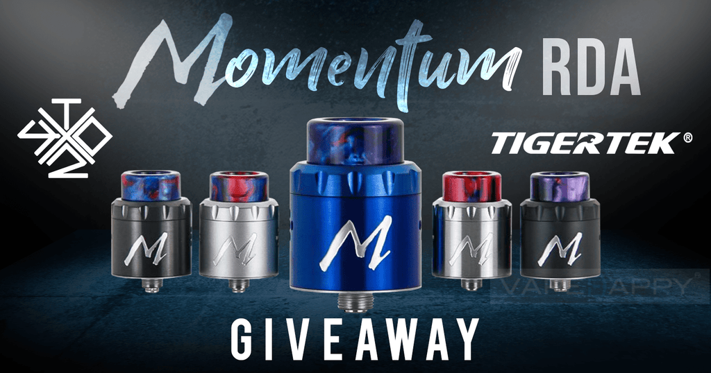 GIVEAWAY: MOMENTUM RDA BY VAPINGWITHTWISTED420