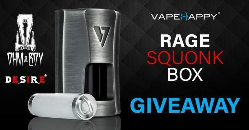 RAGE SQUONK MOD GIVEAWAY