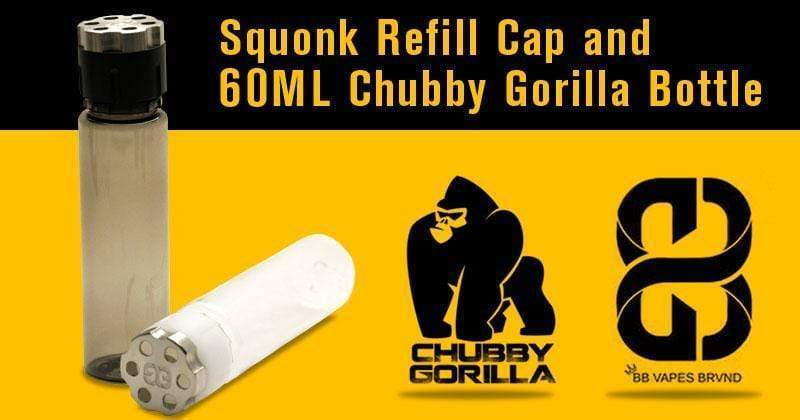 Turn Any 60ML Chubby Gorilla Bottle into a Squonk Refill Bottle!
