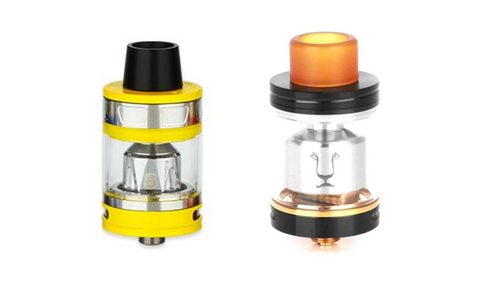 Aries ProCore Tank by Joyetech and Solomon RTA by Kaees