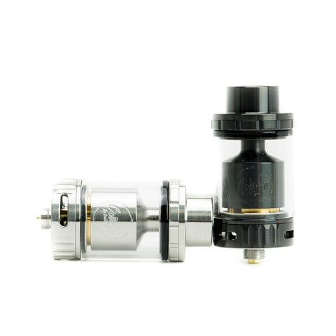 The Azeroth RTA by COILART Stainless Steel and Black Color Options