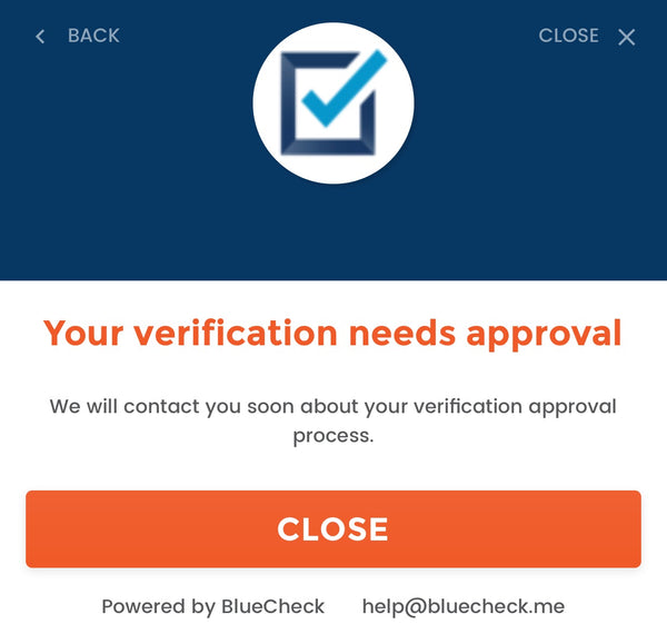 BlueCheck Manual Age Verification