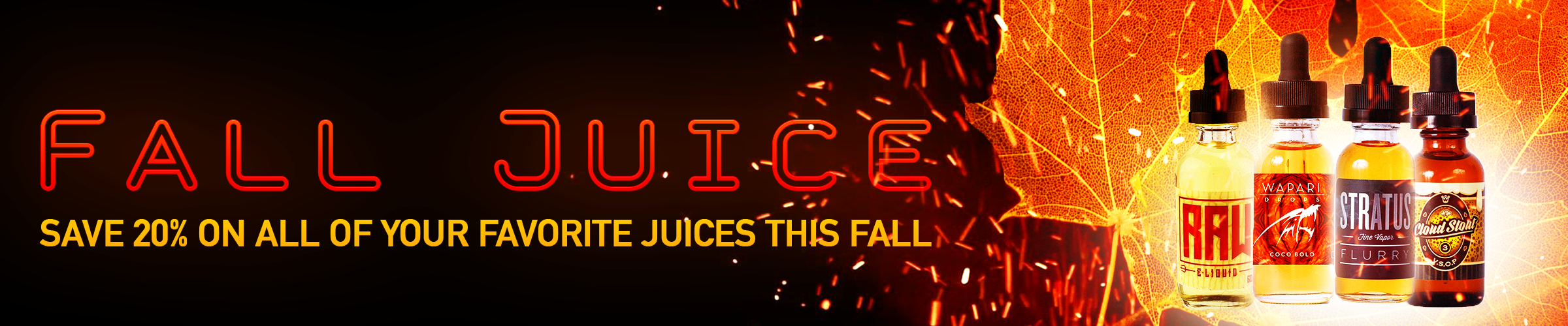 Fall Juice 20% Off