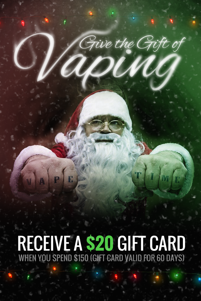 Gift of Vaping Footer Promo