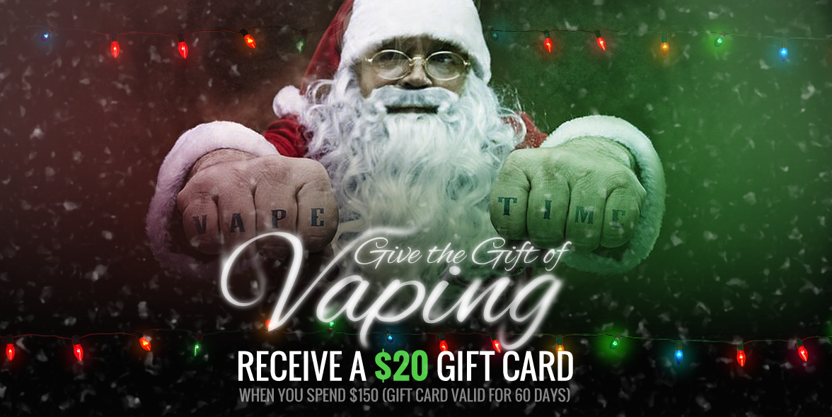 Gift of Vaping Promo