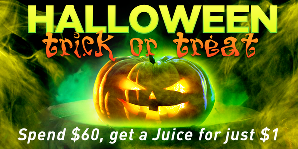 VAPEHAPPY TRICK OR TREAT JUICE PROMO