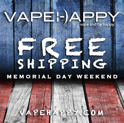 Free Shipping This Memorial Day Weekend