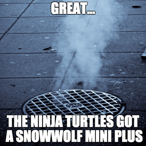 SnowWolf Mini Plus Meme