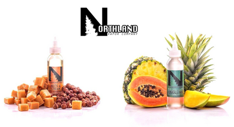 Northland Vapor E-Liquid Nuts & Cream and Jungle No. 4 120ML