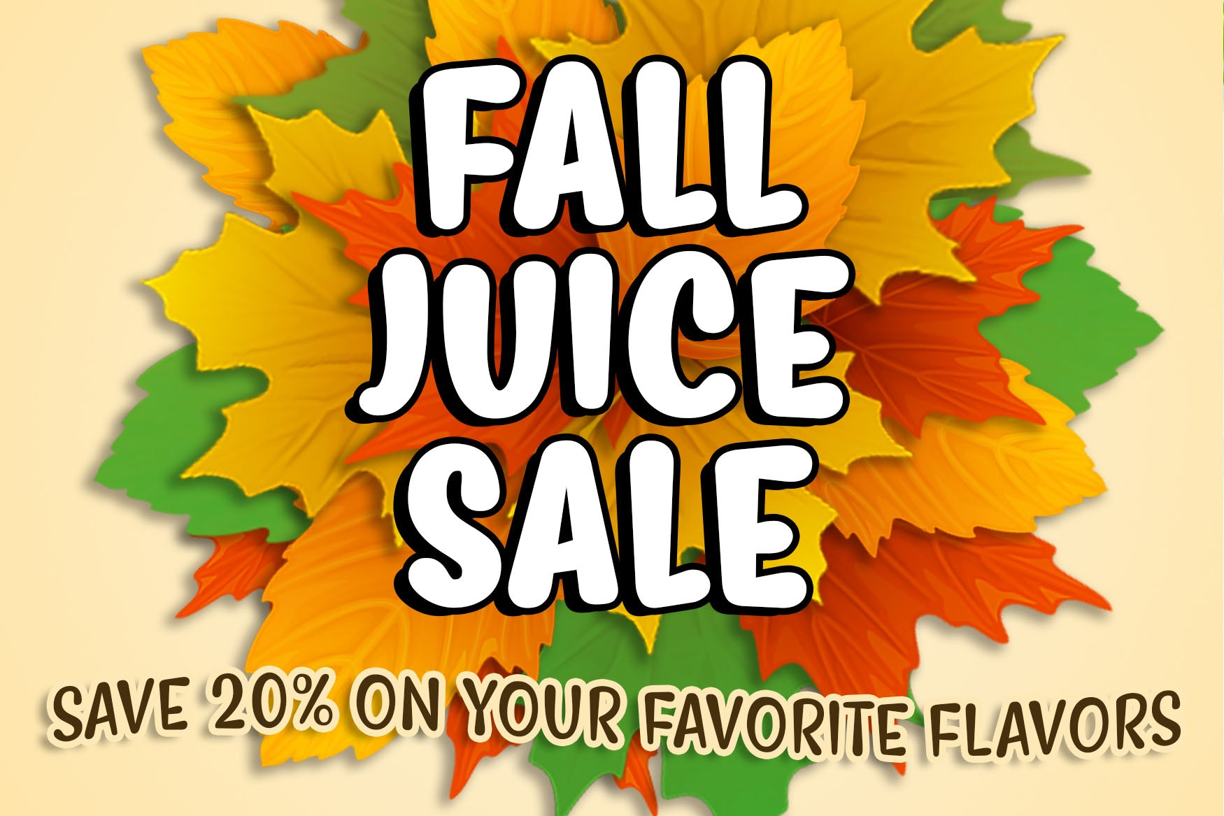 Fall Juices 20% Off