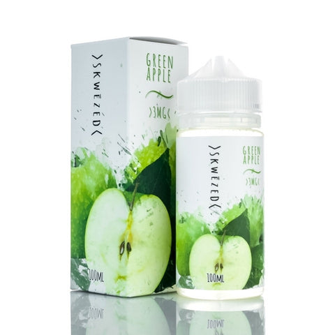 Summertime E-Liquid #3 Green Apple E-Liquid by Skwezed 100ML
