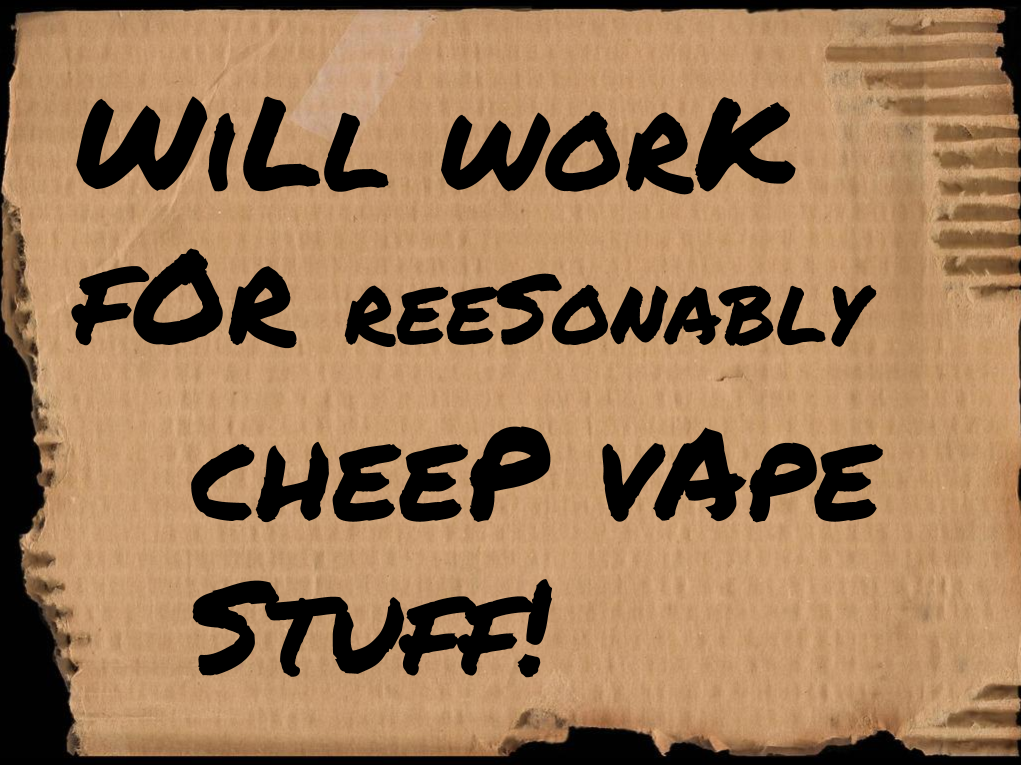 Vapin' On A Budget- A VAPEHAPPY Bargain Hunter's Story Pt. 1
