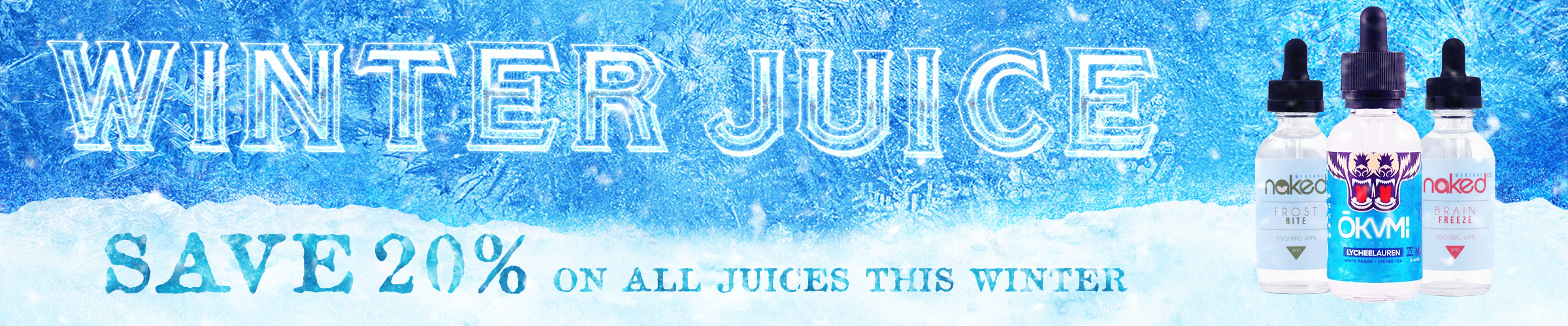 Winter Juices 20% off