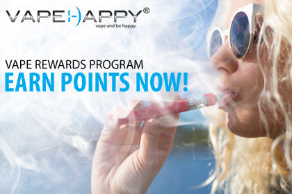 VAPEHAPPY REWARDS PROGRAM