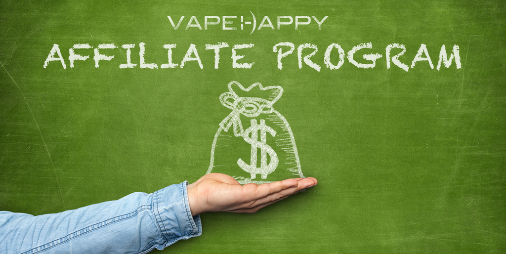 Affiliate with us at VAPEHAPPY