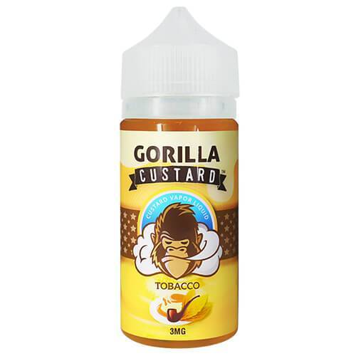 Gorilla Custard eLiquid - Tobacco