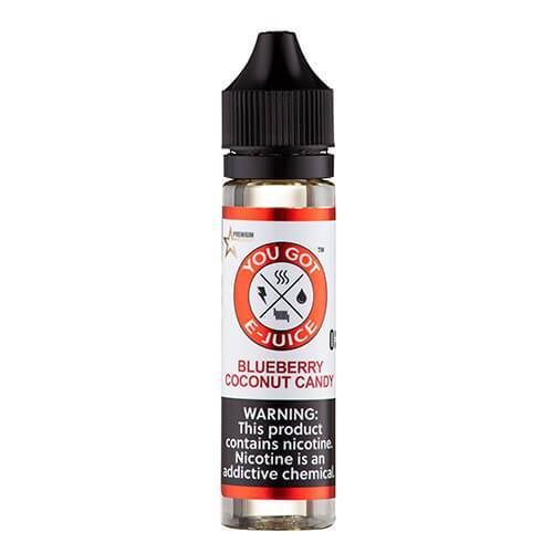 You Got E-Juice - Blueberry Coconut Candy