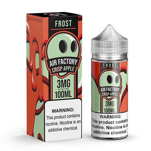 Air Factory Frost Eliquid - Crisp Apple