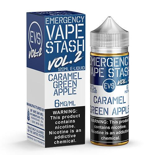Emergency Vape Stash Vol 2 - Caramel Green Apple